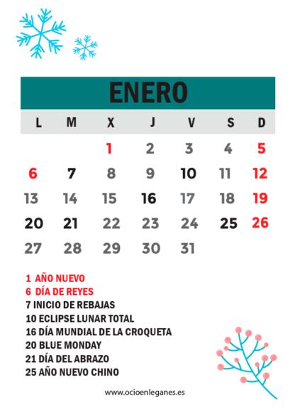 Agenda 2020 Ocio en Leganés Fechas destacadas