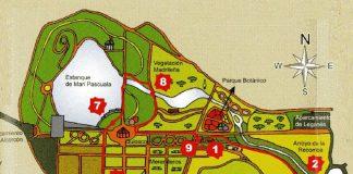 Planes en el Parque de Polvoranca