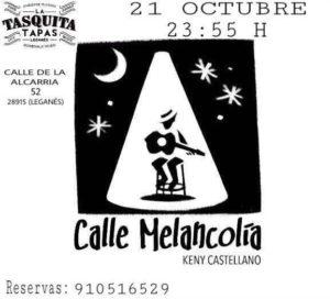 Concierto Tributo a Sabina en La Tasquita Tapas de Kenny Calle