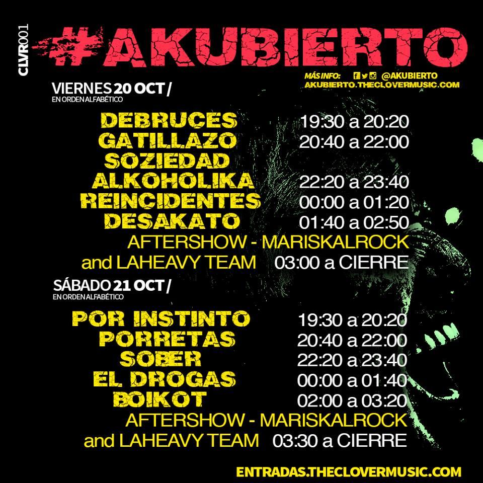 Akubierto Festival de Leganés
