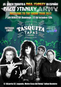 Paco Stanley Kiss concierto en la Tasquita Tapas