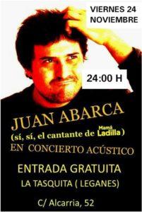 Juan Abarca en la Tasquita