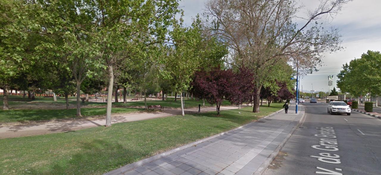 Parque las Moreras y los Cipreses