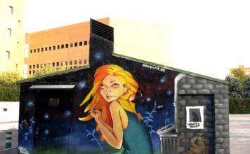 murales de Sonsione en Leganés