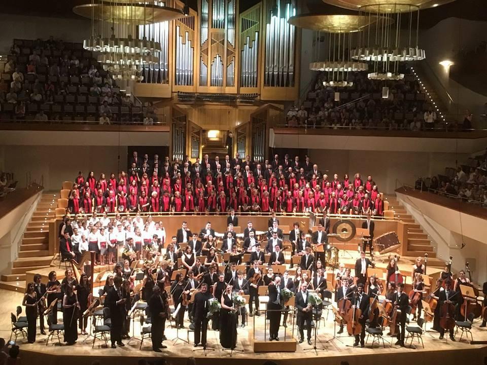 Conciertos Navidad OSC-JMJ Auditorio de la Universidad Carlos III de Leganés.