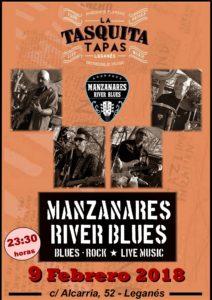 Manzanares River Blues en La Tasquita