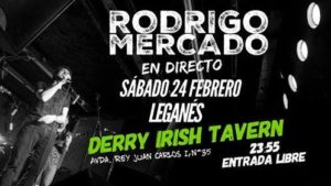 Rodrigo Mercado en el Derry