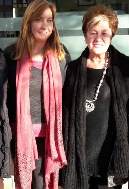 Mari Carmen Estévez y Cristina Largo de Ocio en Leganés