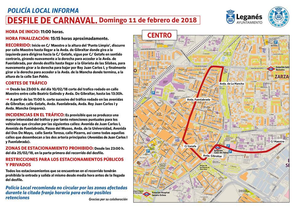 carnaval Leganes calles
