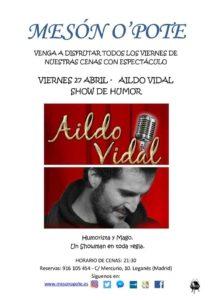 AILDO VIDAL MAGIA Y HUMOR SIN PARAR DE REIR