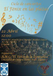Ciclo de conciertos el Fenix en las plazas