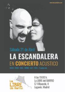 Concierto en acústico de La Escandalera