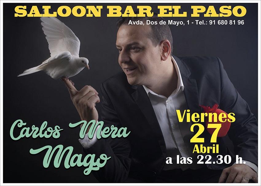 El mago Carlos Mera en el Paso