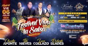 Festival Viva la Salsa I Live in Madrid