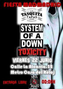 La Tasquita Leganés Concierto TOXICITY