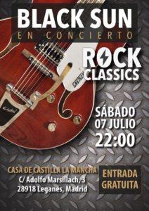 """BLACK SUN"" ROCK Classics"