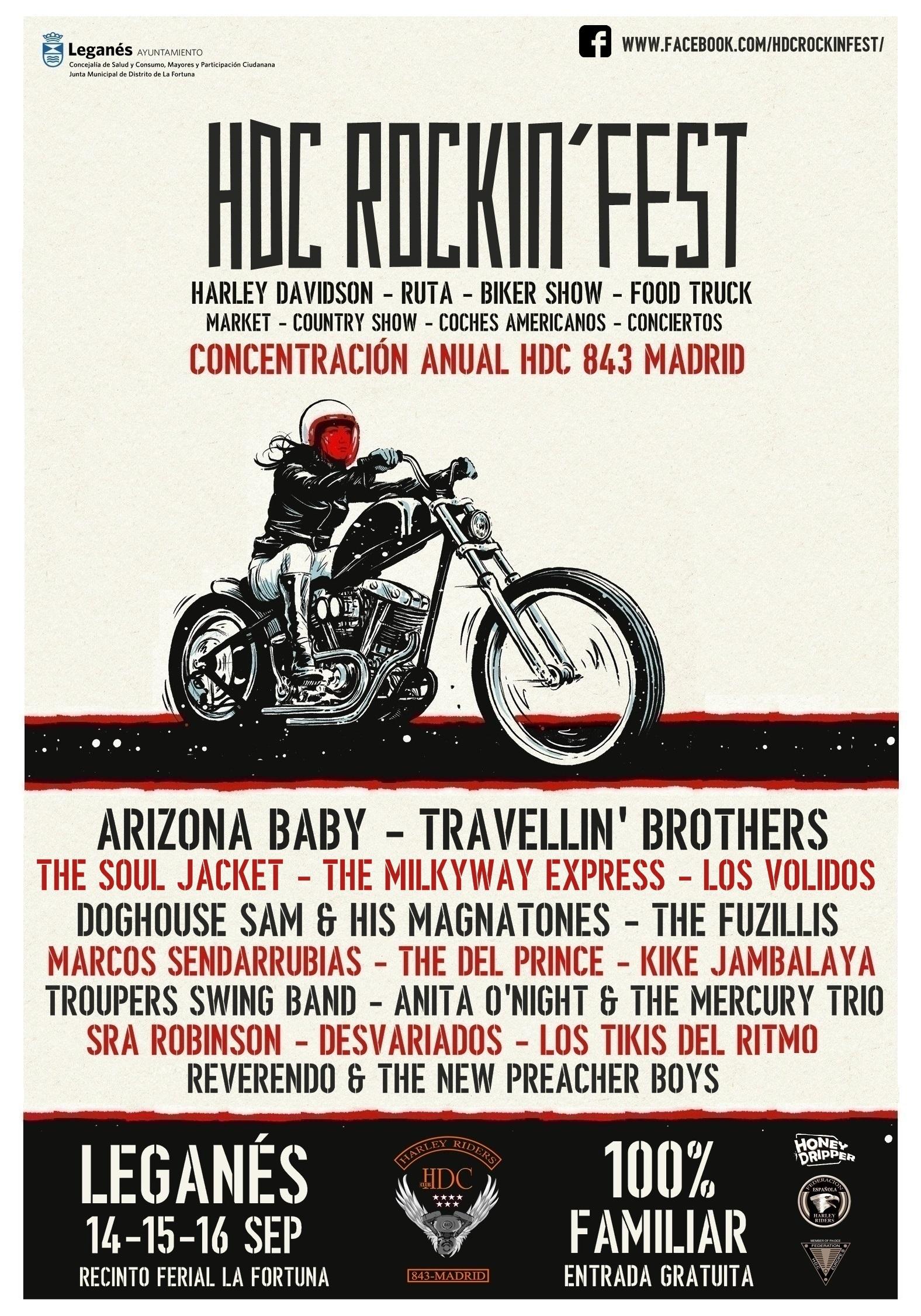 HDC Rockin Fest en La Fortuna