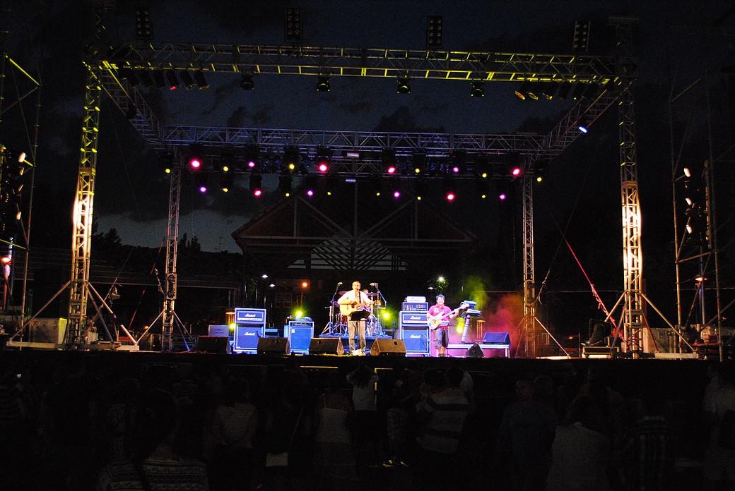 Fran Rojas concierto en Leganés
