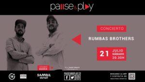 Rumba Brothers en directo Pause&Play Sambil