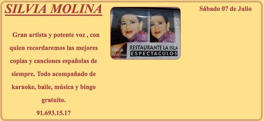 SILVIA MOLINA en La Isla