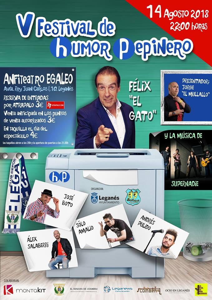 V Festival de Humor Pepinero