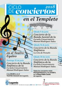 Conciertos de la Escuela Conservatorio Manuel Rodríguez Sales