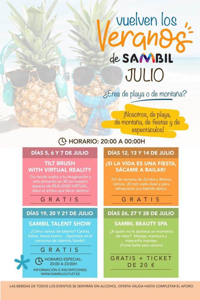 LOS VERANOS DE SAMBIL