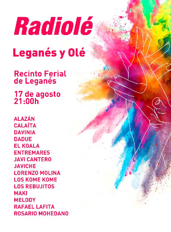 Leganés y Olé en las fiestas de Leganés