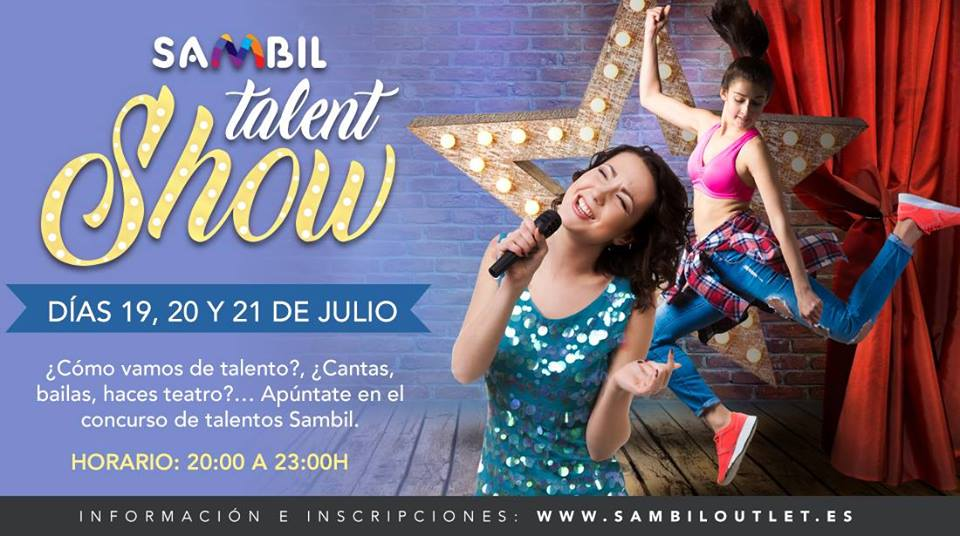 Talent Show en Sambil Outlet