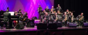 Leganés Big Band en la Plaza de España en las Fiestas de Leganés 2018