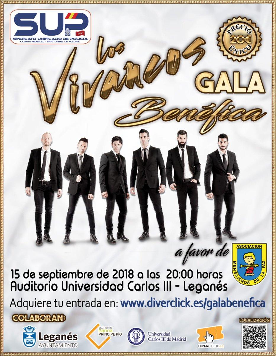 Espectáculo solidario de Los Vivancos Nacidos para bailar
