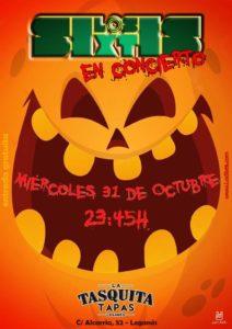 Halloween con los SIXTIS (version de los 60´s)