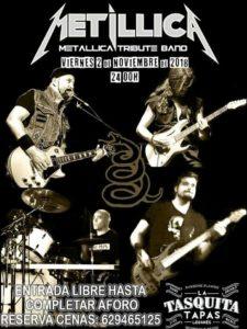 Metillica tributo a Metallica