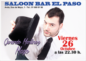 Magia en el Saloon Bar El Paso