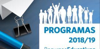 Cuaderno de programas (online) y recursos municipales a la escuela