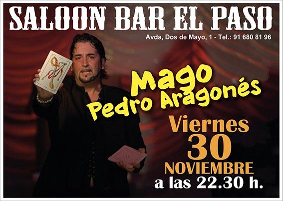 Pedro Aragonés magia en el Paso