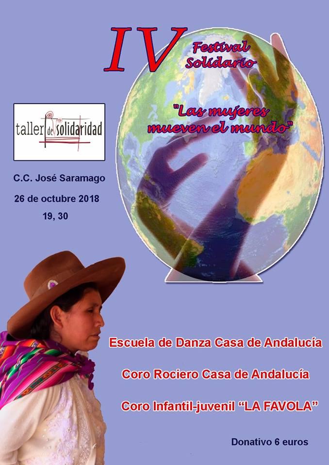 Actividades en la Casa de Andalucía de Leganés en octubre
