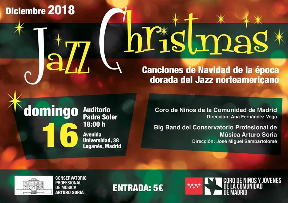 Jazz Christmas en el Auditorio Padre Soler