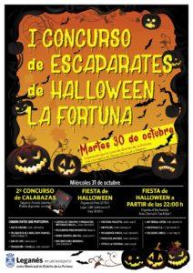 La Fortuna celebran Halloween con concursos de escaparates