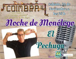 Noche de monologos con El Pechuga en el Coimbra