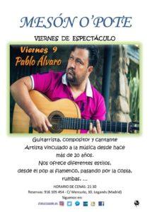 Pablo Álvaro en el Opote
