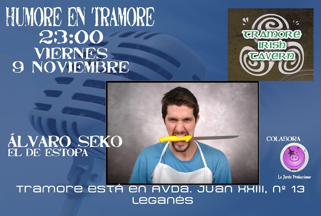 Alvaro Seko Humor en Tramore