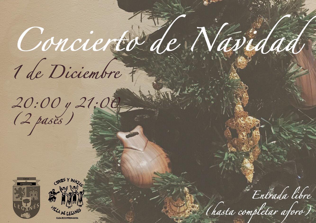 Concierto de Navidad en la Casa de Extremadura
