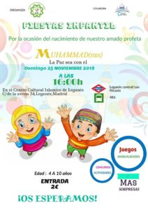 Fiesta infantil Centro Cultural Islámico De Leganés