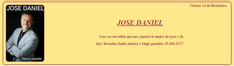 JOSE DANIEL En La Isla