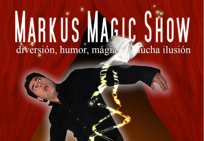 La magia de la Navidad con El mago Marcus