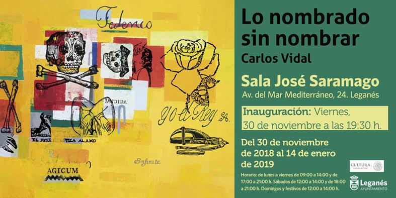 Exposición del artista Carlos Vidal