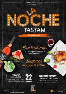 SEGUNDA EDICIÓN DE LA NOCHE TASTAM
