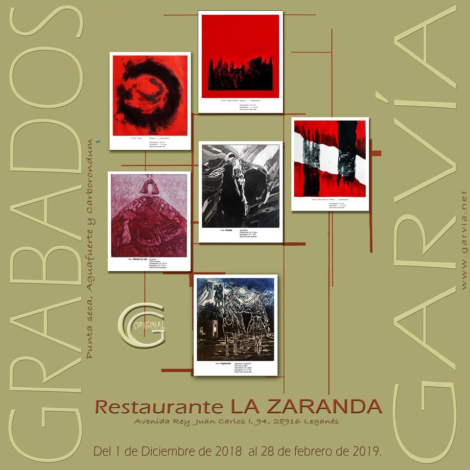 Exposición Gravados Garvía en la Zaranda