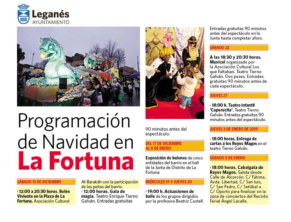 Navidad 2018 en la Fortuna